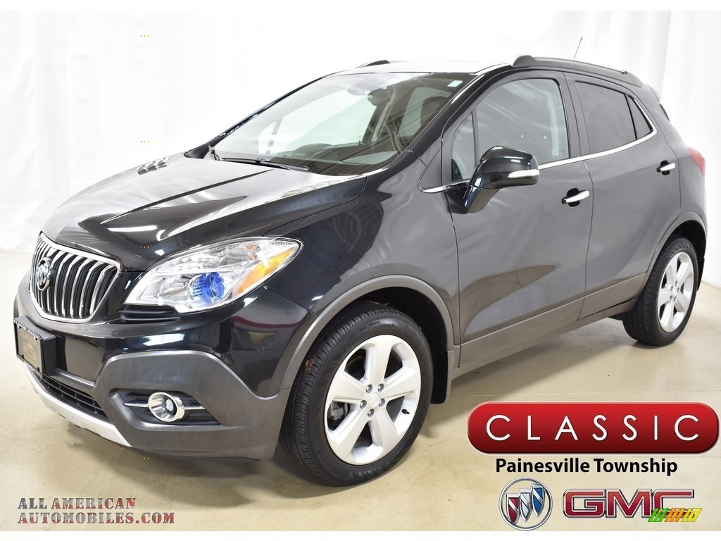 2016 Encore Convenience AWD - Carbon Black Metallic / Ebony photo #1