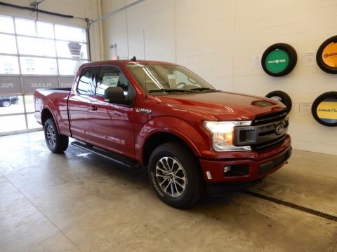 Ruby Red 2019 Ford F150 XLT SuperCrew 4x4