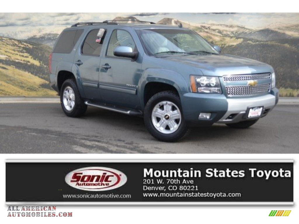 2009 Tahoe LT 4x4 - Blue Granite Metallic / Light Titanium photo #1
