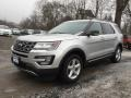 Ford Explorer XLT 4WD Ingot Silver Metallic photo #7
