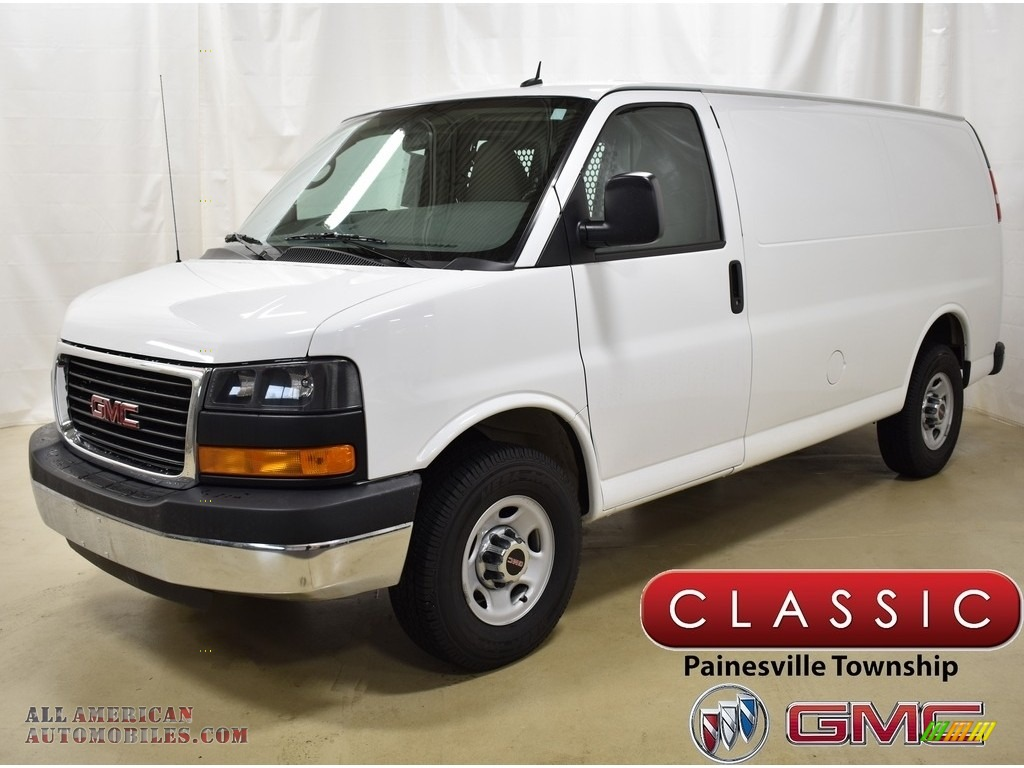 2015 Savana Van 2500 Cargo - Summit White / Medium Pewter photo #1