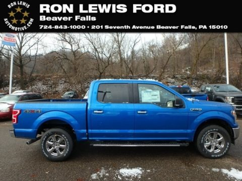 Performance Blue 2019 Ford F150 XLT Sport SuperCrew 4x4