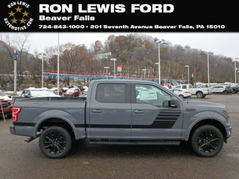 Abyss Gray 2019 Ford F150 XLT Sport SuperCrew 4x4