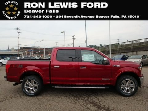 Ruby Red 2018 Ford F150 Lariat SuperCrew 4x4
