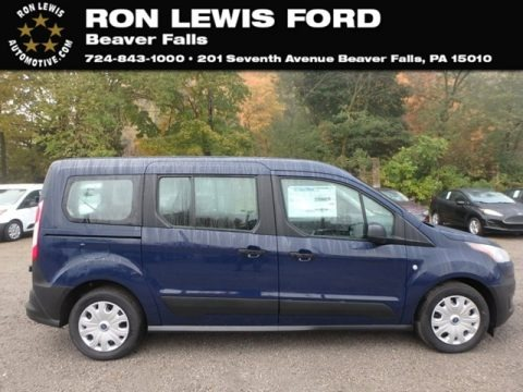 Blue 2019 Ford Transit Connect XL Passenger Wagon