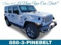 Jeep Wrangler Unlimited Sahara 4x4 Bright White photo #1
