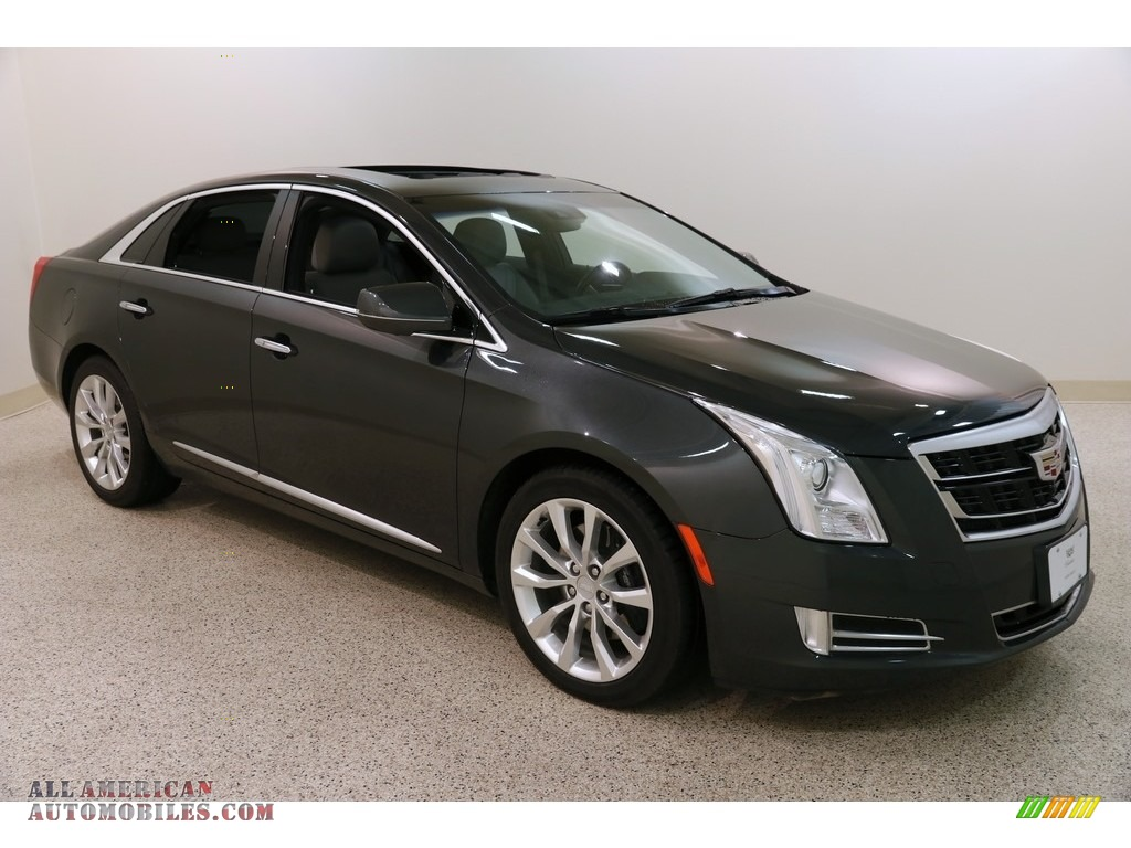 2017 XTS Luxury AWD - Phantom Gray Metallic / Medium Titanium w/Jet Black Accents photo #1