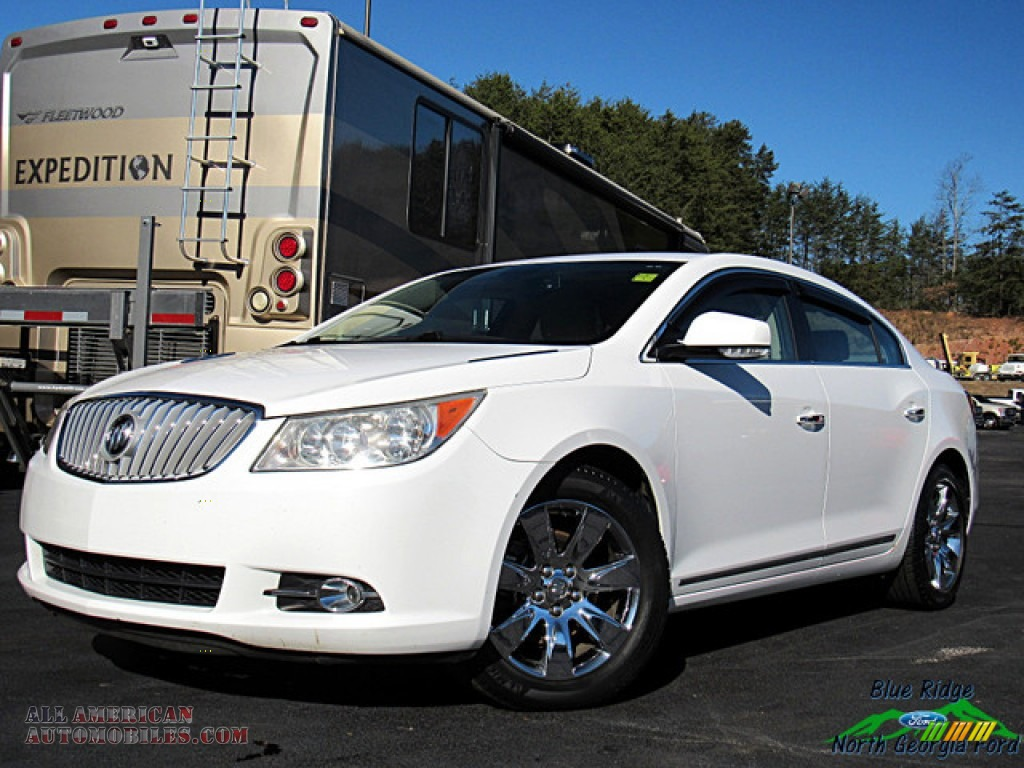 Summit White / Cocoa/Light Cashmere Buick LaCrosse CXL