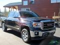 GMC Sierra 1500 SLT Crew Cab 4x4 Onyx Black photo #8