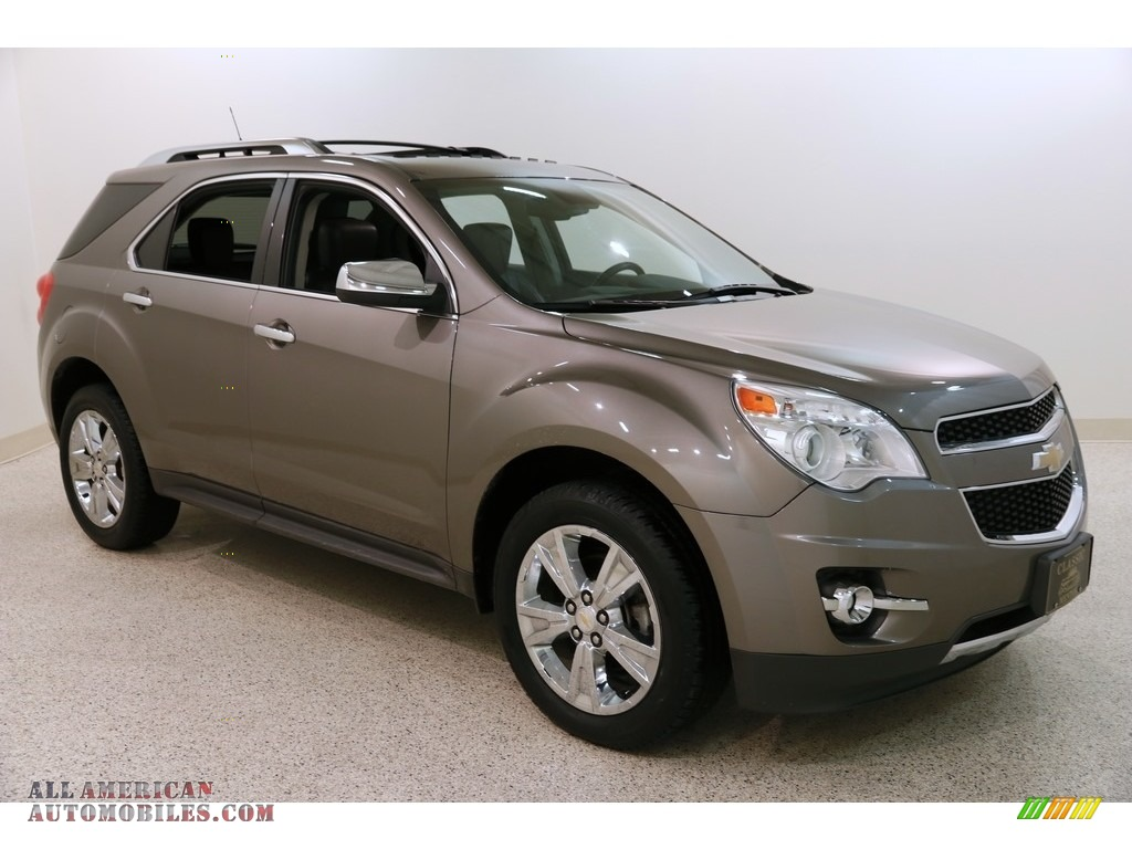 2012 Equinox LTZ AWD - Mocha Steel Metallic / Brownstone/Jet Black photo #1
