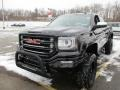 GMC Sierra 1500 SLT Crew Cab 4WD Onyx Black photo #19