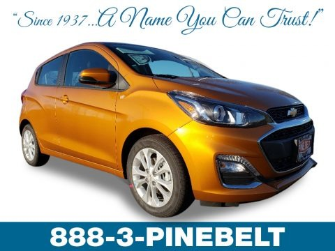 Orange Burst Metallic 2019 Chevrolet Spark LT