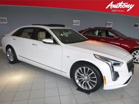 Crystal White Tricoat 2019 Cadillac CT6 Premium Luxury AWD