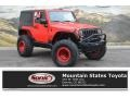 Jeep Wrangler Sport Firecracker Red photo #1