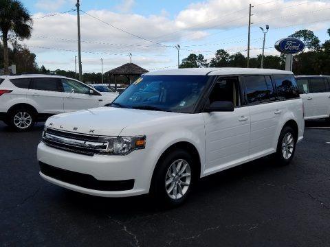 Oxford White 2019 Ford Flex SE