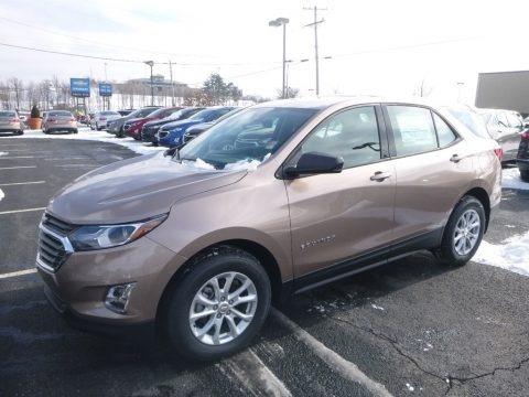Sandy Ridge Metallic 2019 Chevrolet Equinox LS