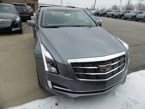 Satin Steel Metallic 2019 Cadillac ATS Luxury AWD