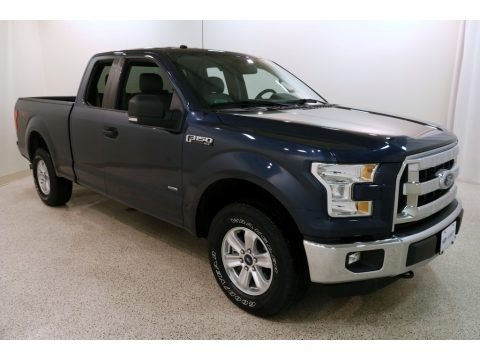 Blue Jeans 2016 Ford F150 XLT SuperCab 4x4