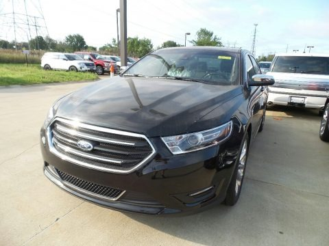 Shadow Black 2018 Ford Taurus Limited