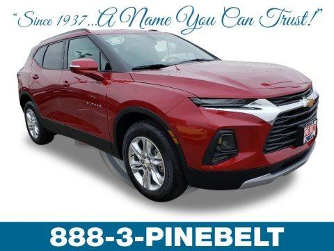 Cajun Red Tintcoat 2019 Chevrolet Blazer 2.5L Cloth