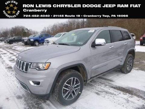 Billet Silver Metallic 2019 Jeep Grand Cherokee Limited 4x4