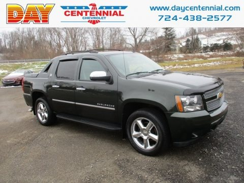 Fairway Metallic 2013 Chevrolet Avalanche LTZ 4x4