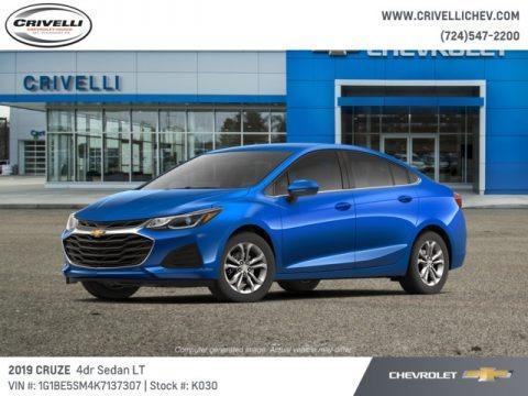 Kinetic Blue Metallic 2019 Chevrolet Cruze LT