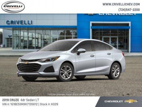 Silver Ice Metallic 2019 Chevrolet Cruze LT