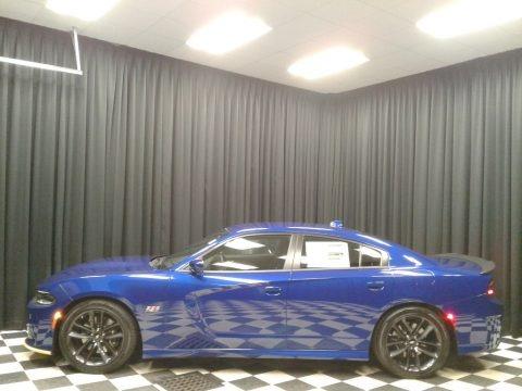 Indigo Blue 2019 Dodge Charger R/T Scat Pack