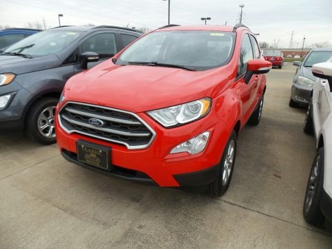 Race Red 2018 Ford EcoSport SE 4WD