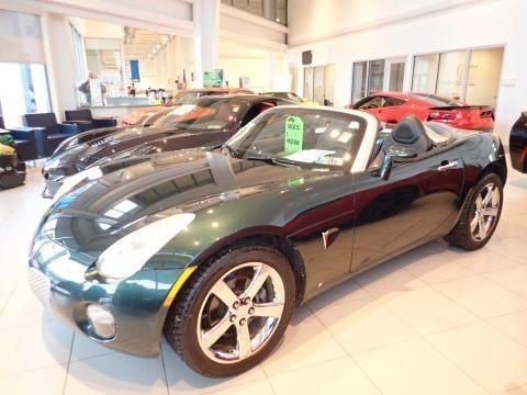 Envious Green 2006 Pontiac Solstice Roadster