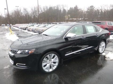 Black 2019 Chevrolet Impala Premier