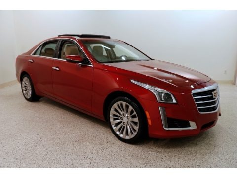 Red Obsession Tintcoat 2015 Cadillac CTS 2.0T Luxury AWD Sedan