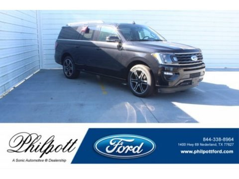Agate Black Metallic 2019 Ford Expedition Limited Max