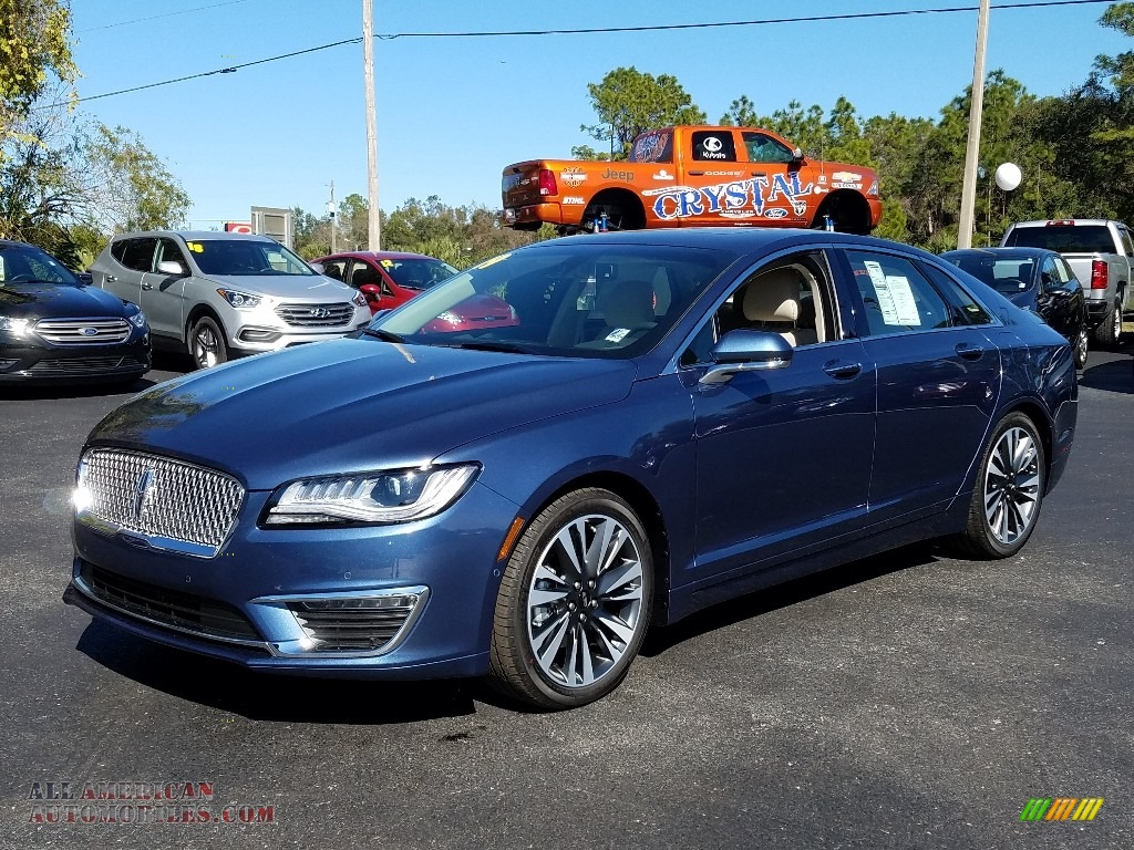 2019 MKZ Reserve II - Blue Diamond / Cappuccino photo #1