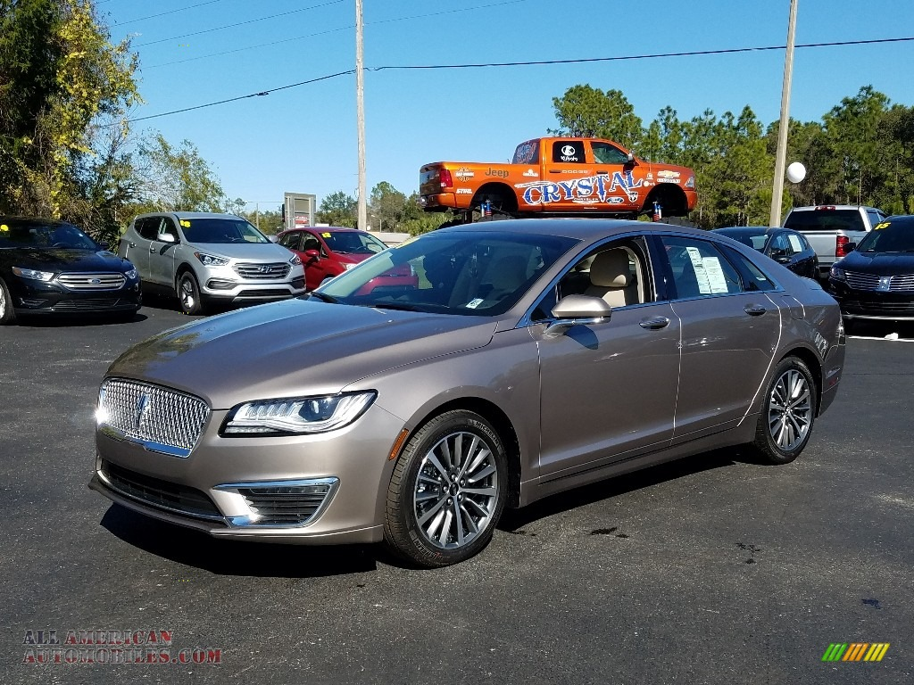 2019 MKZ Reserve I - Iced Mocha Metallic / Cappuccino photo #1