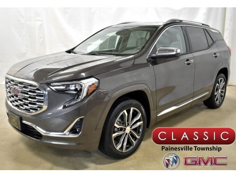 Smokey Quartz Metallic 2019 GMC Terrain Denali AWD