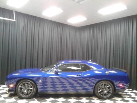 Indigo Blue 2019 Dodge Challenger R/T Scat Pack
