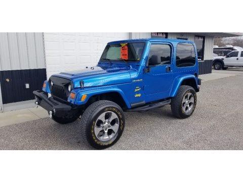 Intense Blue Pearl 2003 Jeep Wrangler Sport 4x4