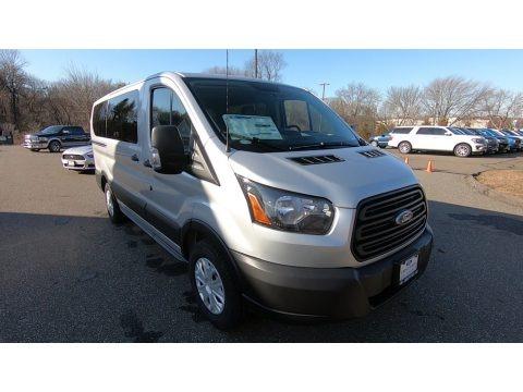 Ingot Silver 2019 Ford Transit Passenger Wagon XL 150 LR