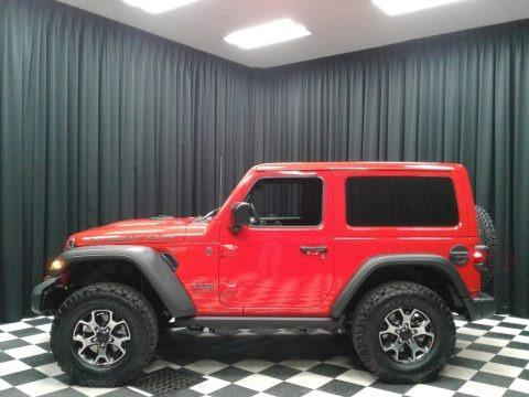 Firecracker Red 2019 Jeep Wrangler Rubicon 4x4