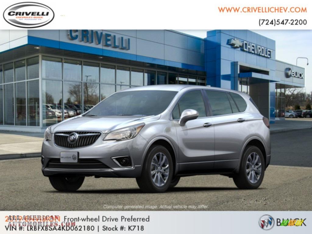 2019 Envision Preferred - Galaxy Silver Metallic / Light Neutral photo #1