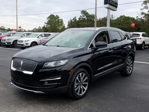 Infinite Black Metallic 2019 Lincoln MKC Reserve