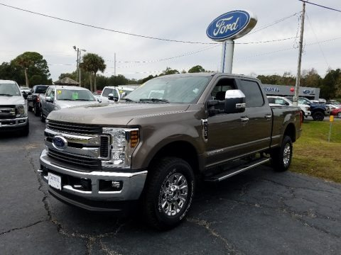 Stone Gray 2019 Ford F250 Super Duty XLT Crew Cab 4x4