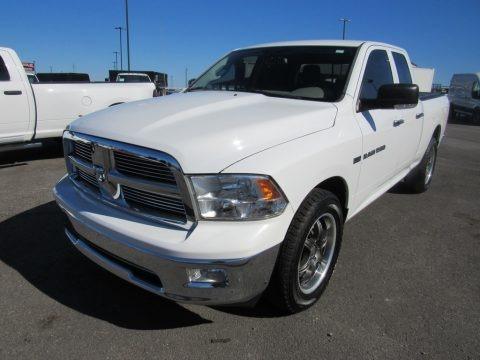 Bright White 2011 Dodge Ram 1500 SLT Quad Cab 4x4