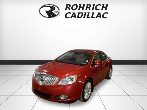 Crystal Red Tintcoat 2016 Buick Verano Leather Group