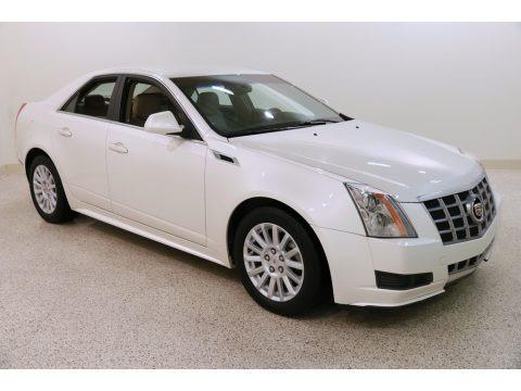 White Diamond Tricoat 2012 Cadillac CTS 4 3.0 AWD Sedan
