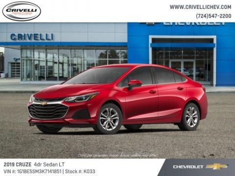Cajun Red Tintcoat 2019 Chevrolet Cruze LT