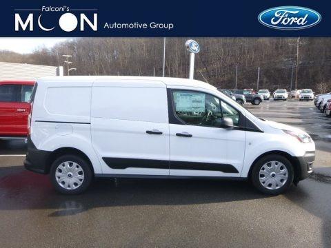 Frozen White 2019 Ford Transit Connect XL Van