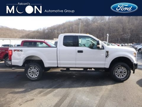 Oxford White 2019 Ford F250 Super Duty XLT Crew Cab 4x4